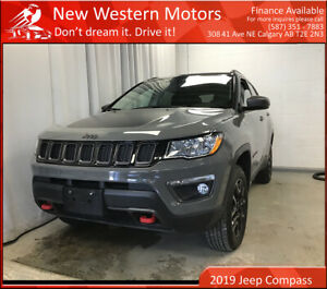 2019 Jeep Compass Trailhawk 4x4/Fully loaded/LOW KMS/Remote Starter!