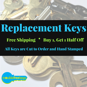 109N 109 109T 109H Replacement File Cabinet Key HON 109S 109R 109E