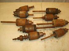 Vintage Starter Generator Armatures