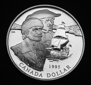 1995-proof-uncirculated-1-silver-anniversary-of-Hudson-039-t-Bay-Company