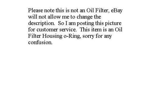 Engine Oil Filter Housing O-Ring ACDelco Pro 12580255