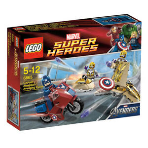 LEGO-Marvel-Super-Heroes-Avengers-Captain-America-039-s-Avenging-Cycle-6865