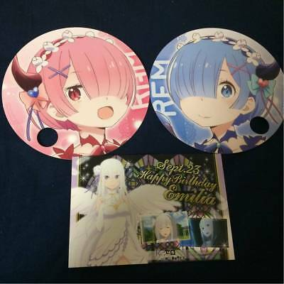 Re:Zero Rem /& Emilia Die-Cut Anime Sticker Set GE-55656