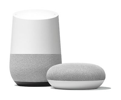 Google Home and Google Home Mini Bundle from the Official Google eBay Store