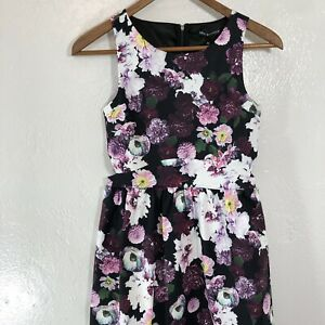 Miss-Behave-Amber-Floral-Dress-Sz-XL-Sleeveless-With-Side-Cut-Outs-Party-Event
