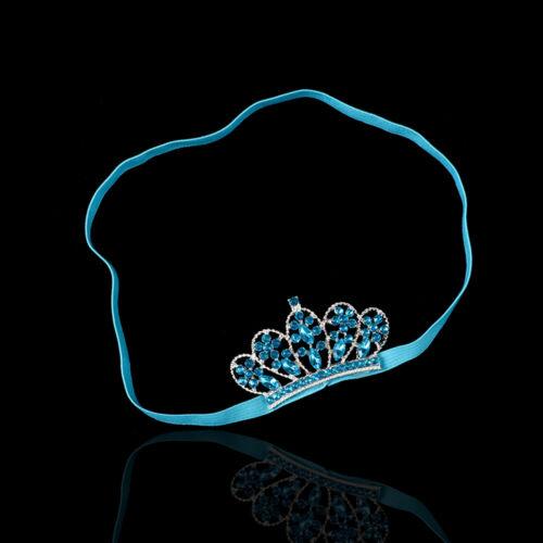 Baby Princess Rhinestone Tiara Hair Headband Hair Dress Head Wear Accessories