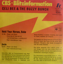 "7"" 1978 CBS-BLITZ MINT- ! CELI BEE & THE BUZZY BUNCH : Hold Your Horses Babe"