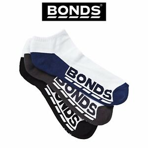 Mens-Bonds-Low-Cut-Socks-Sports-Active-Comfy-Casual-3-Pack-Gym-Running-S8220N