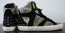 ASH CHIPIE Kinderschuhe High Sneaker Unisex Schuhe Chucks Nieten Gr.34 NEU