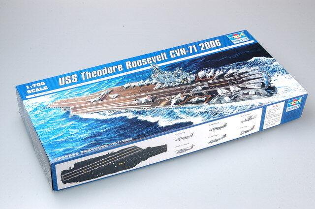 Trumpeter 1 700 05754 USS Theodore Roosevelt CVN-71