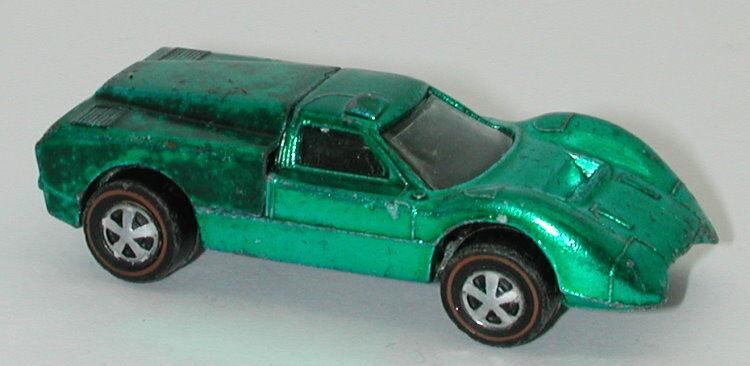 Redline Redline Redline Hotwheels Green 1968 Ford J Car oc13016 251682