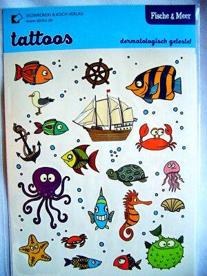 Stefanie Krauss  Kinder-Tattoos*lustige Frösche*Mitgebsel A7 Grätz