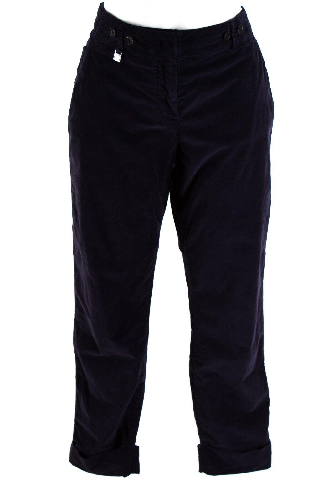 RENE LEZARD Hose Gr. 36 Baumwolle 7 8 Stretchhose Kordhose Casual Cord Pants