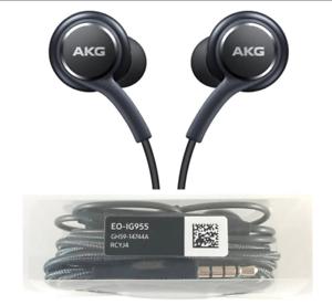 Écouteurs Type AKG Samsung s8 Cable tressé kit main libre jack 3.5mm Stéréo Neuf