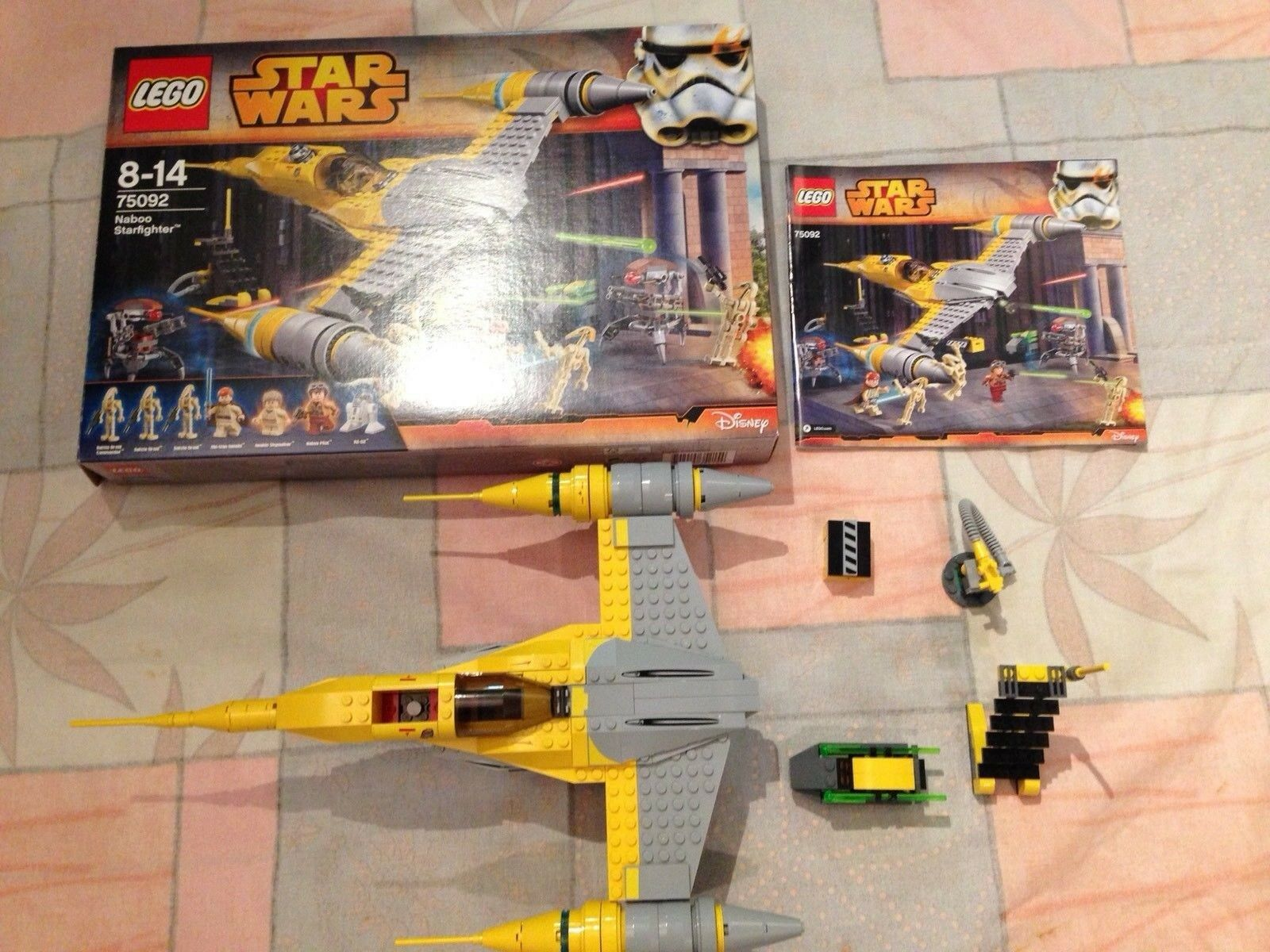 outlet in vendita Lego Estrella Guerras 75092 75092 75092 Naboo Estrellacombatiente NO MINIcifra  80% di sconto
