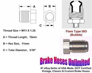 MALE-TUBE-NUT-M11-x-1-25-Bubble-Flare-3-16-034-Line