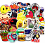 thumbnail 4 - Stickers 200 Skateboard Luggage Decals Adult Humor Dope Sticker Laptop Vinyl Car
