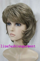Ladies wig Straight Curly Women Short Natural Hair Cosplay wigs brown blonde