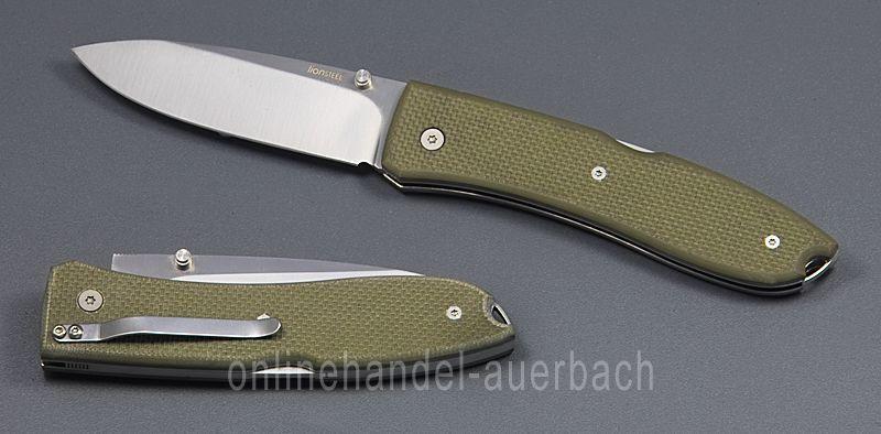 LIONSTEEL BIG OPERA USA Grün G10 8810 GN  Taschenmesser Klappmesser  Messer  | Economy