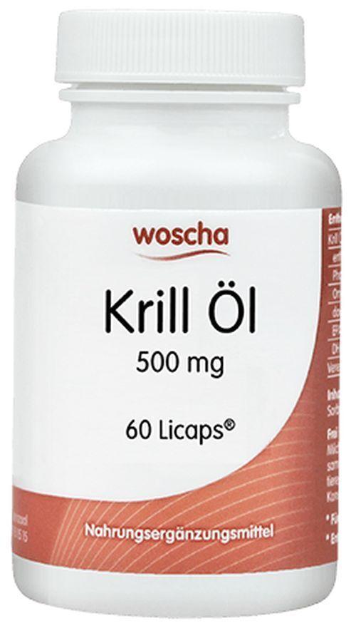 Krill Öl 500mg Woscha 120 Kapseln Kapseln 120 EUR0.50/pro Kapsel + Gutschein 77ed87