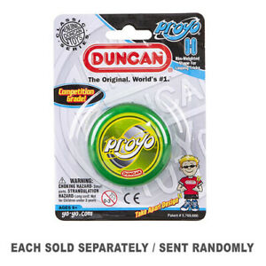 New Excellent Quality Funfilled Duncan Yo Yo Beginner ProYo Assorted Colours