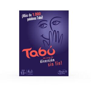 Tabú - Juego de mesa - Hasbro Gaming  - 13 AÑOS+