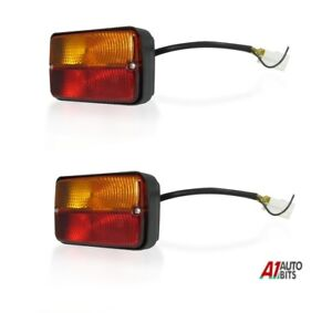 2x-Universal-Tractor-Trailer-Rear-Combination-Stop-Tail-Indicator-Lights-Lamps