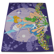 133x95cm Disney Fairies Tinkerbell Kinderteppich Spielteppich ...