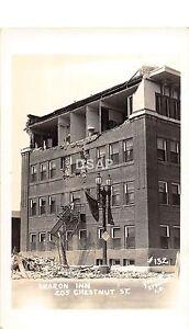 <A3> CALIFORNIA Ca Postcard? Real Photo RPPC '33 LONG BEACH Earthquake Disaster7