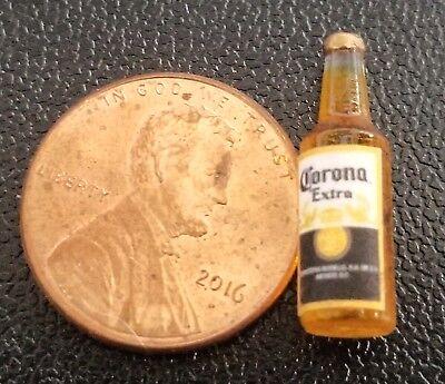 Dollhouse Miniature Handcrafted Corona Light Beer Bottle
