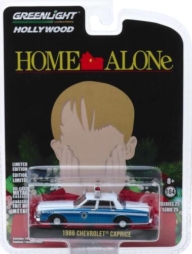 1986 Chevrolet Caprice Wilmette Illinois Police Home Alone 1:64 GreenLight 44850