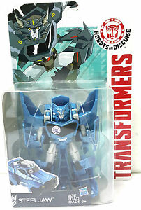 Transformers Robots In Disguise RID iOS Android App Deluxe Class Steeljaw Rare