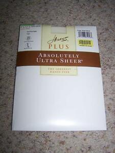 aca452d5e8e Image is loading HANES-PLUS-Absolutely-Ultra-Sheer-Control-Top-PANTYHOSE-