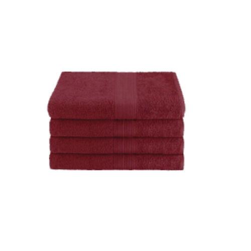 16x27 Ring Spun Hand Towel Burgundy 1 Dozen