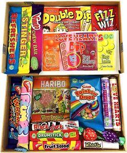 Tabby's Treats Retro Sweets Selection Gift Box Hamper