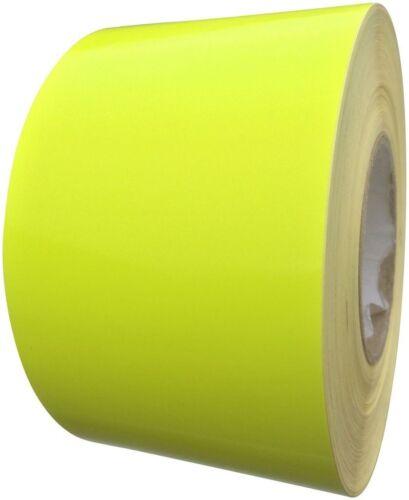 Fluorescent Yellow Tape 100mm x 10m -Waterproof Adhesive