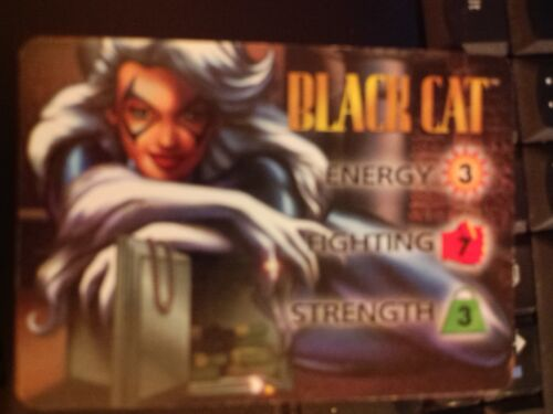 Marvel Overpower Powersurge Black Cat Hero Card NrMint-Mint Card
