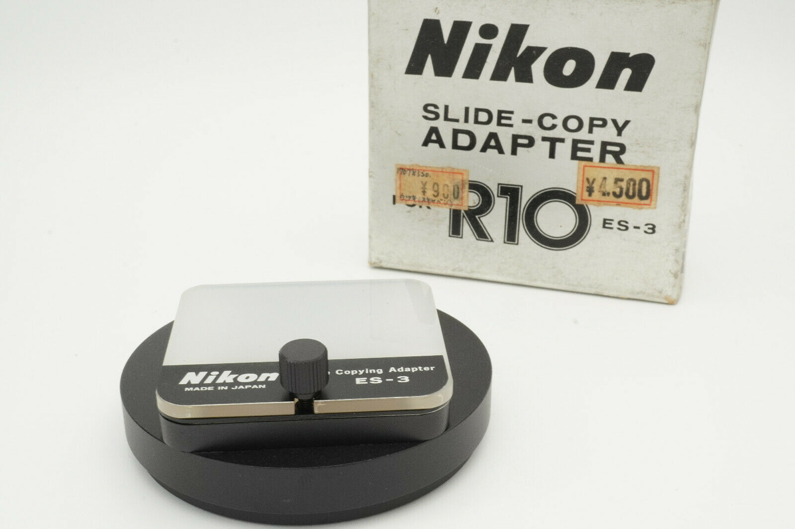 [Unused in box] NIKON Slide-Copy Adapter for R10 ES-3 from Japan #B002