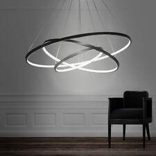 CLASSIC  Deco LED 3 Rings Ceiling Light Fixture Pendant Lamp Lighting Chandelier