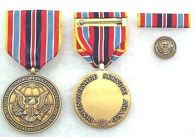 Dept Defense Threat Reduction Agency Civilian Distinguished Service Medal set//3