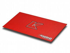 Kyosho-Tappeto-PitMat-Big-K-2-0-ROSSO-61x122cm-80823R