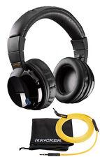 New Kicker HP402BT Wireless Cordless Over Ear Audio Bluetooth Stereo Headphones