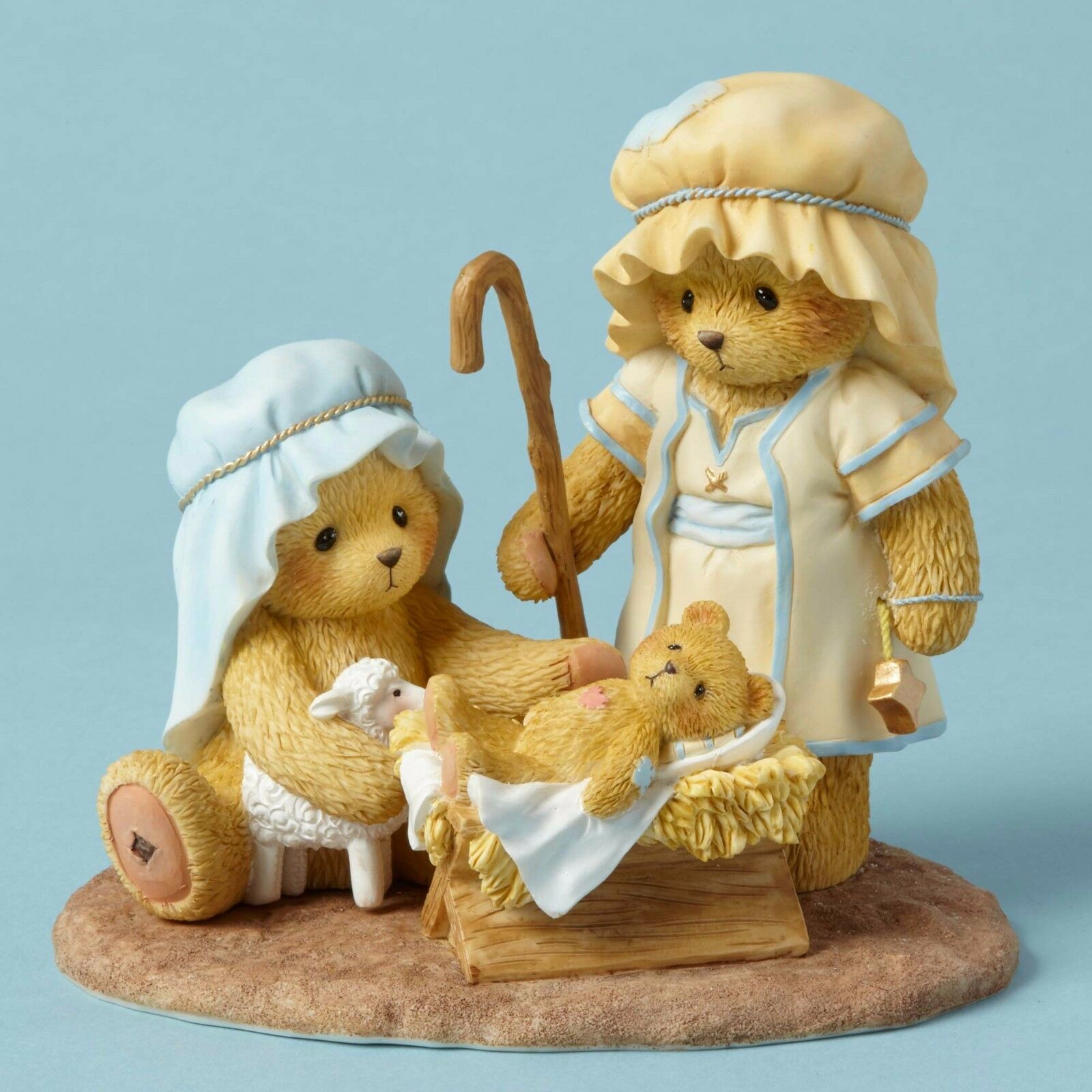 Cherished Teddies~JOESEPH, MARY AND BABY JESUS~2016~FREE SHIP