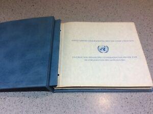 Franklin Nuovo di zecca COMMEMORATIVA DELLE NAZIONI UNITE PRIMO GIORNO DI EMISSIONE Collection 1976-78