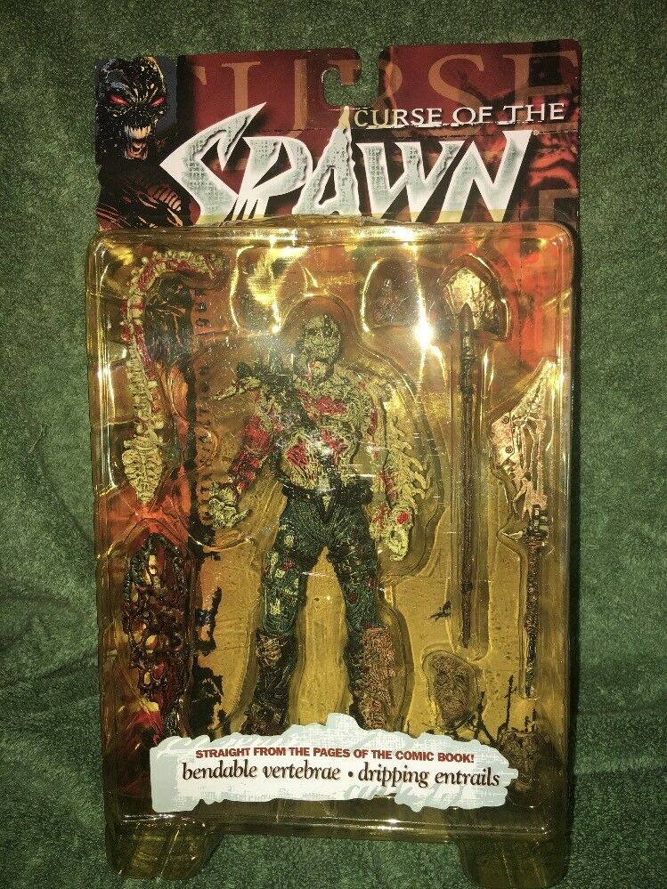 Curse of the spawn figure Series 13 Hatchet 1998 Todd Mcfarlane Toys