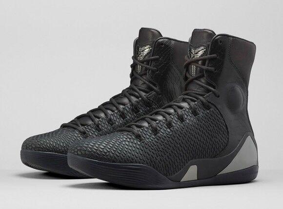 Brand new Nike Kobe 9 Elite EXT 'BLACK MAMBA' 8eu