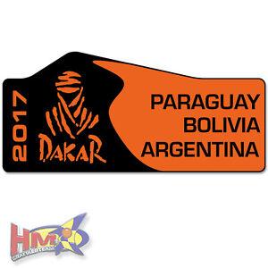 Details Zu Hm Dakar Aufkleber Rallye Auto 20 X 9cm Schwarz Orange Ag 0080 Bt