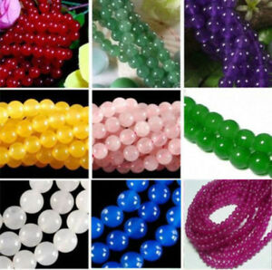 4-10mm-Smooth-Natural-Round-Jade-Jewelry-Making-Loose-Gemstone-Beads-15-034-AAA