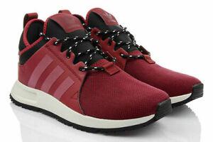 adidas-X-PLR-SneakerBoot-Sizes-3-5-4-4-5-Burgundy-RRP-85-Brand-New-BZ0672