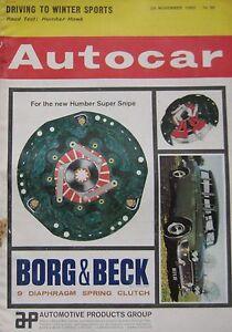 Autocar-magazine-29-11-1963-featuring-Humber-Hawk-road-test-Innocenti-IM3